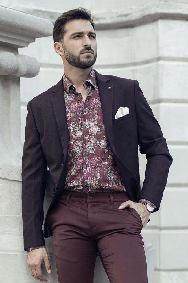 Koszule męskie w kwiaty - Repablo